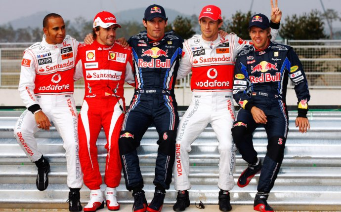 5 World Champions Grid to Break F1 Record in 2011 - autoevolution