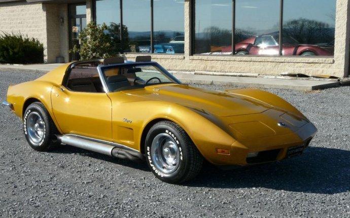 1973 Chevrolet 1973 Metallic Yellow L82 Close Ratio 4spd Corvette