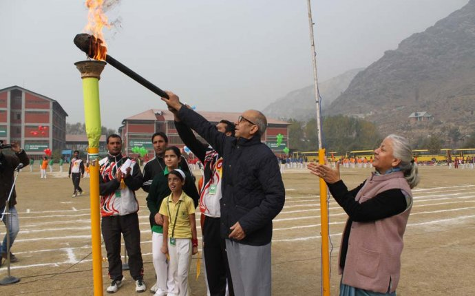 Annual Sports Day Celebrated by classes to V - Delhi Public