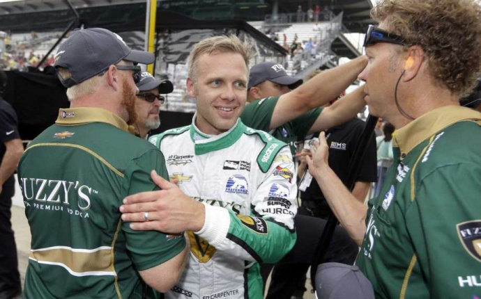 Carpenter takes top spot in crash-marred Indy 500 qualifying