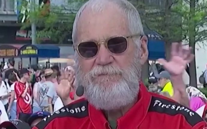 David Letterman admits he s drunk live on ESPN | For The Win