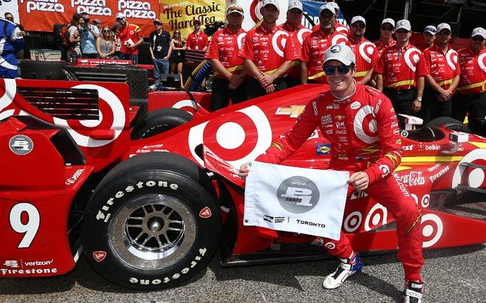 Dixon takes Verizon P1 Award at Honda Indy Toronto