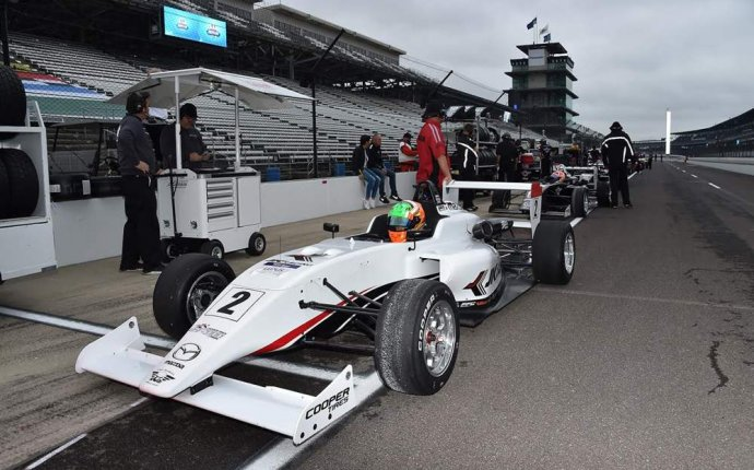 DONISON SCORES FIRST CAREER USF2 PODIUM DURING STRONG INDY