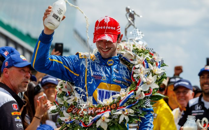 From Formula 1 to Indy, Alexander Rossi scores life-changing