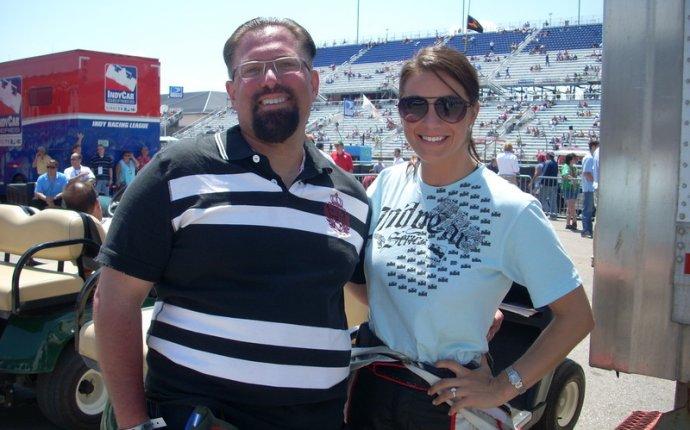Fubar: Starchaser s photo -- Brienne Pedigo, ESPN Indy Car Pit