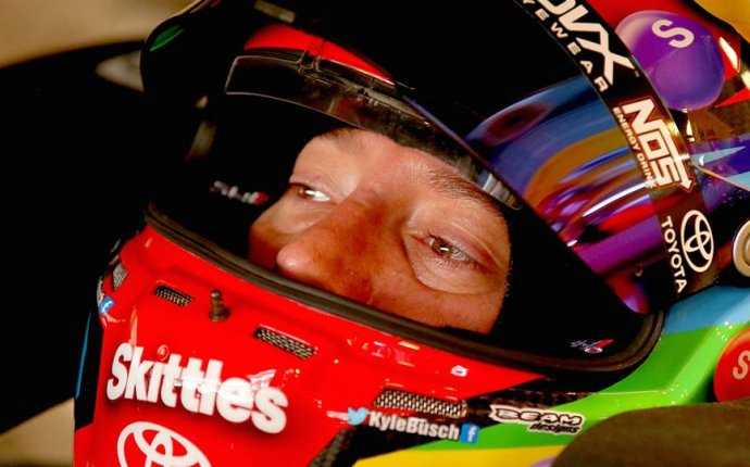 Indianapolis starting lineup: Candy is dandy, Kyle Busch is