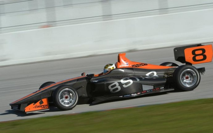 Indy Lights drivers rave about new car after test   Autoweek