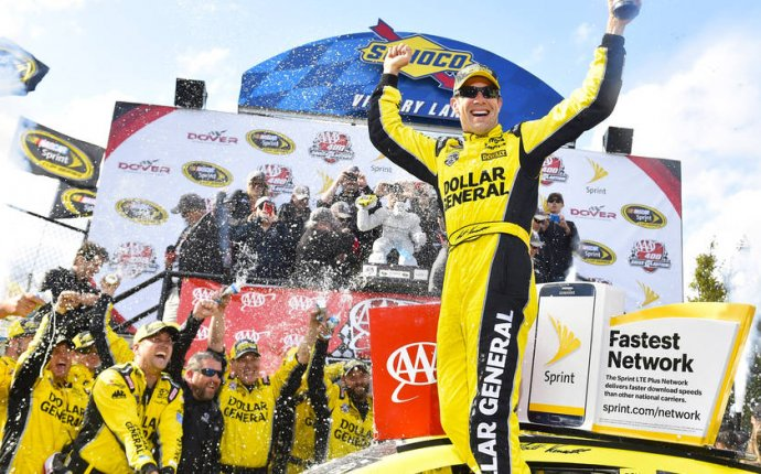 Kenseth and Toyota win NASCAR Sprint Cup race at Dover