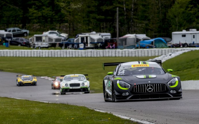 Mercedes-AMG Motorsport Customer Racing Teams at Lime Rock Park
