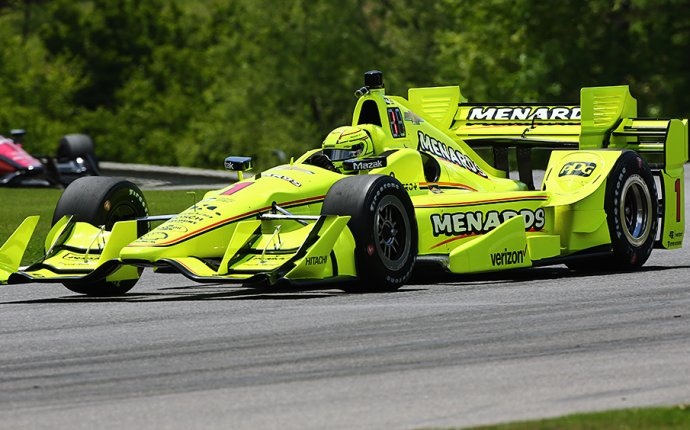 Pagenaud leads Team Penske sweep of first Barber practice