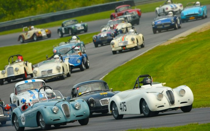Vintage British Racing at Lime Rock (CT) | Thrill of the race
