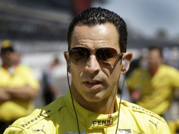 IndyCar driver Helio Castroneves led 24 laps but finished 11th.