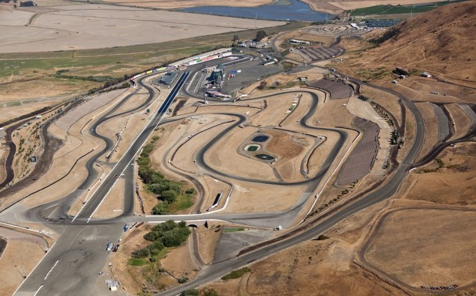 Sonoma California Race Track