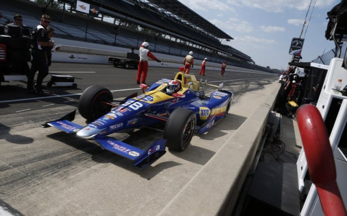 When is the Indy 500 Race