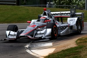 Will Power during qualifying for the Honda Indy Grand Prix of Alabama. Photo Credit: Bret Kelley/Courtesy of IndyCar
